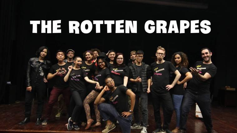 THE ROTTEN GRAPES - Spectacle d_improvisation en langue anglaise